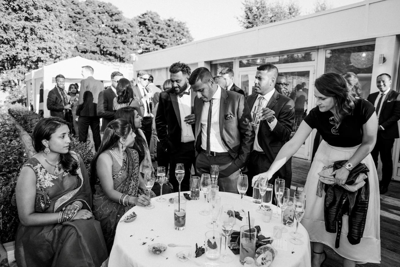 Indian wedding photography Painshill Park Conservatory Surrey