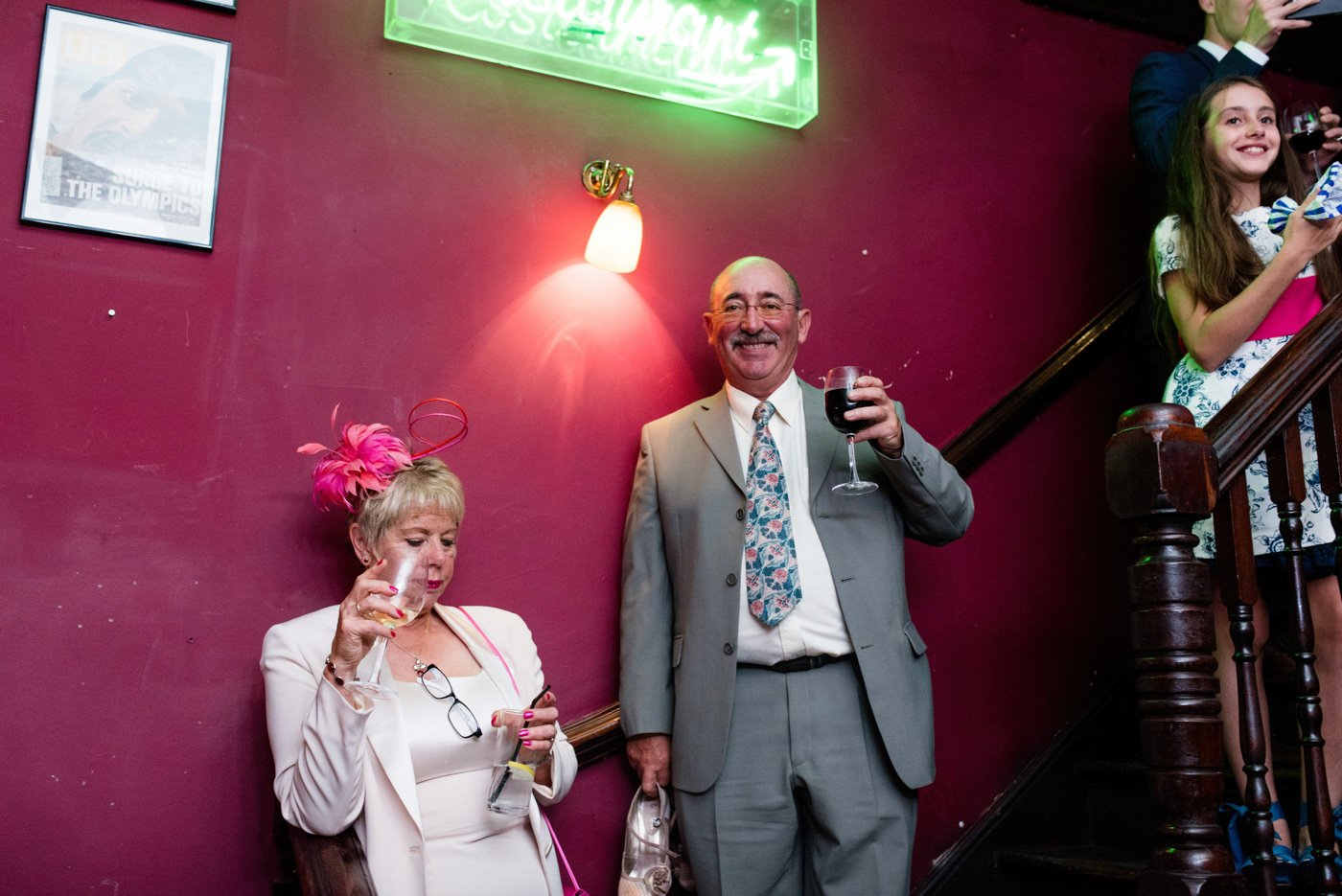 Pub wedding photographer London Babb Photo