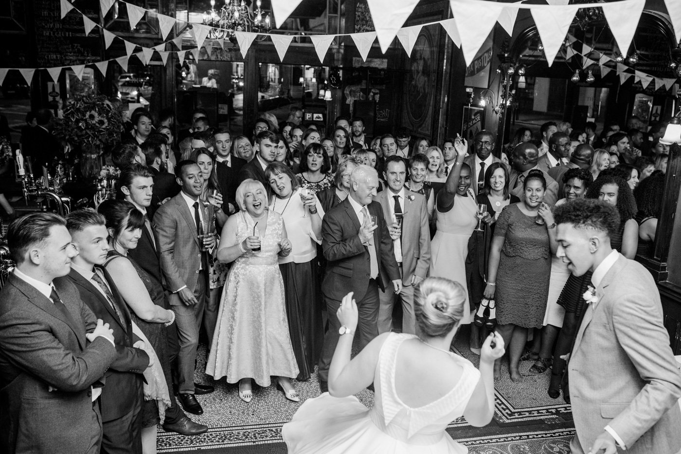 The Peasant pub wedding London