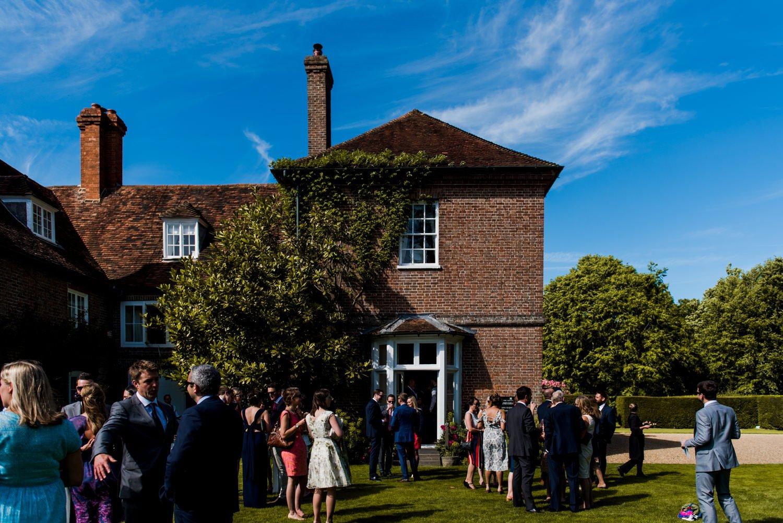 Summer garden party wedding Sprivers Mansion