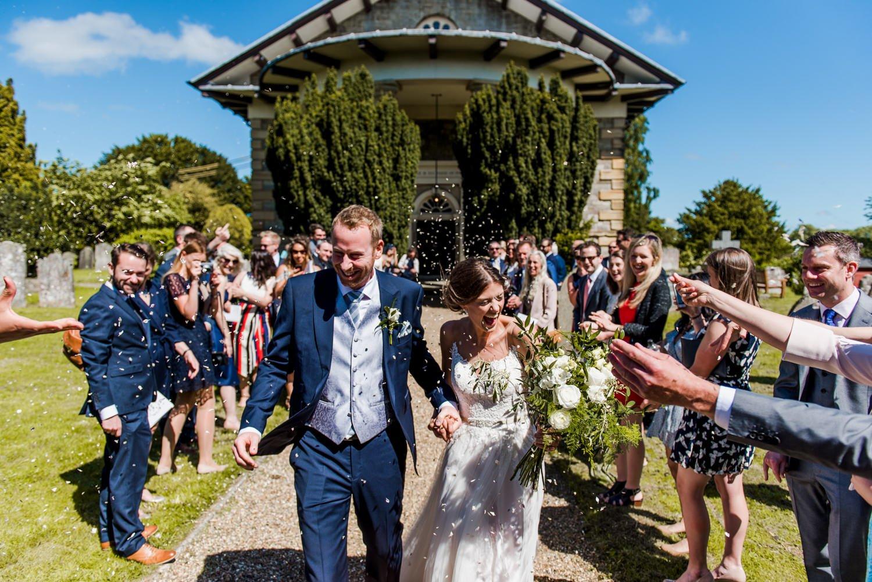 Creative documentary wedding photos Kent