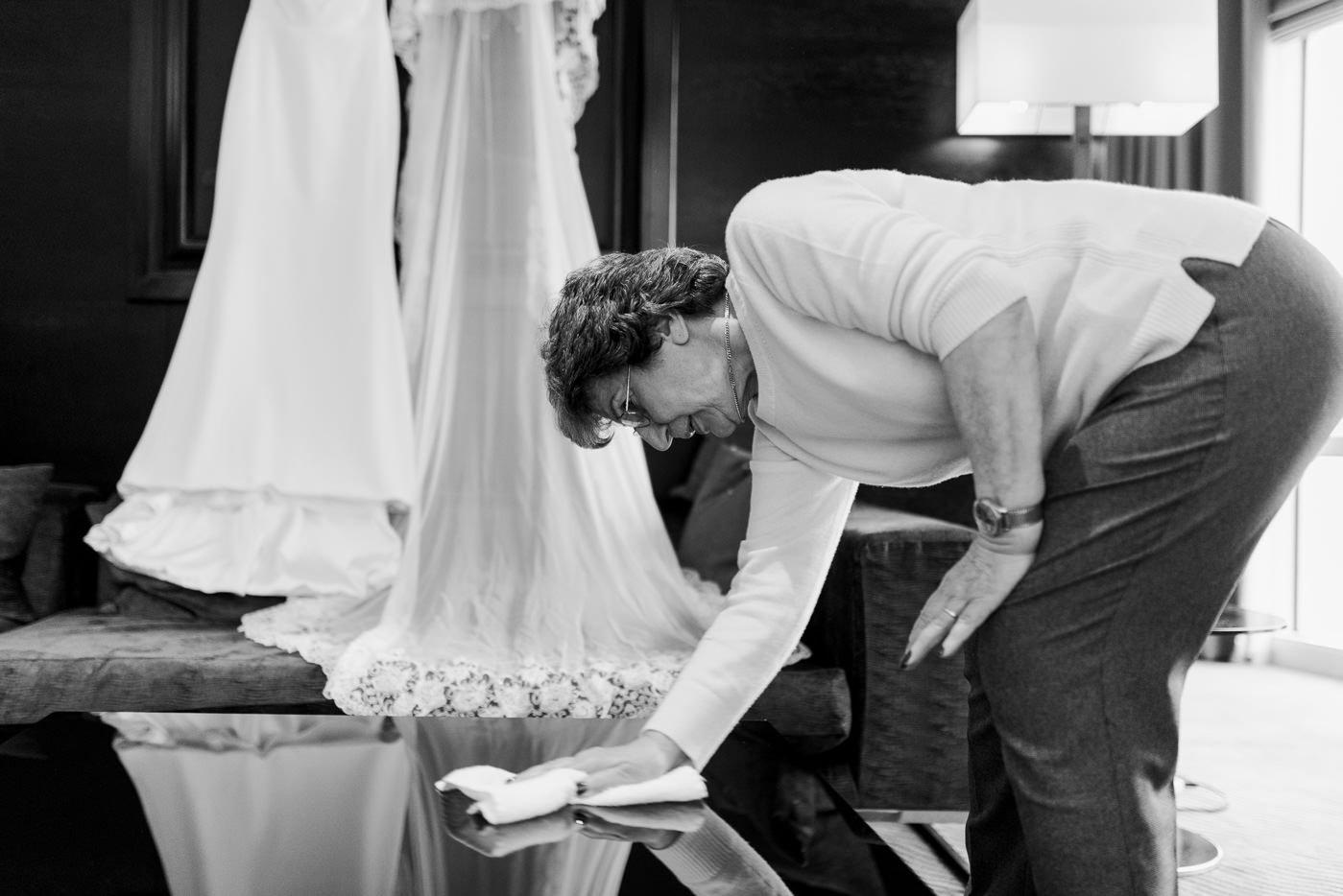 documentary wedding photography colourful warehouse wedding