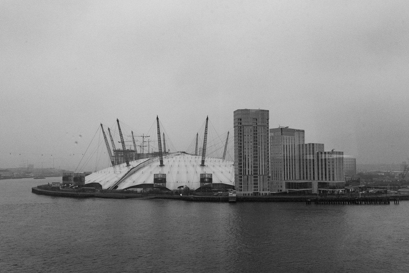 view from trinity buoy wharf