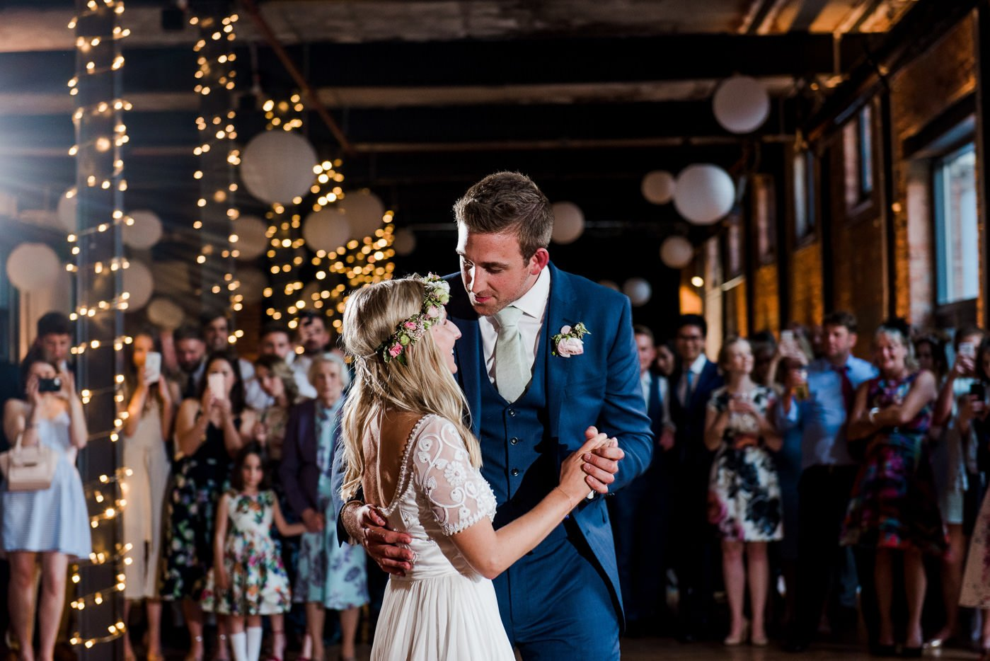 first dance paintworks wedding photographer