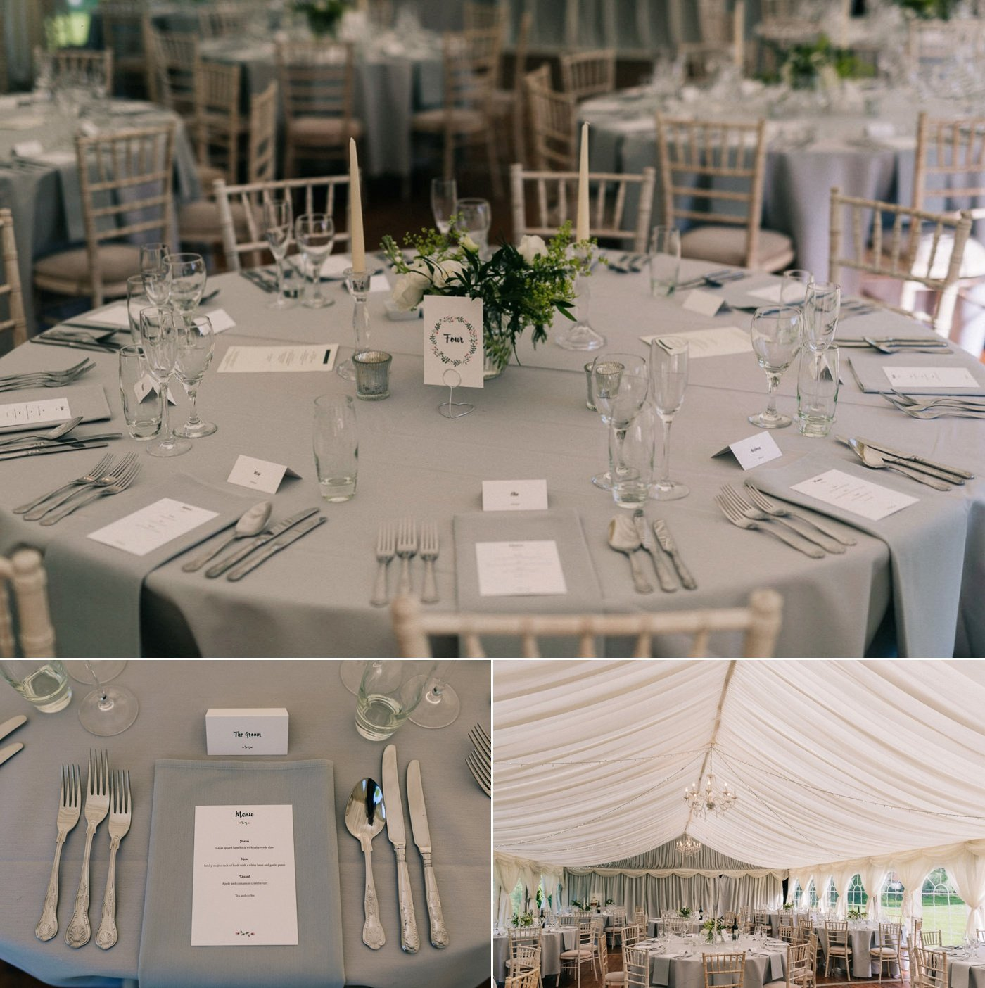 grey wedding styling wedding photographer kent