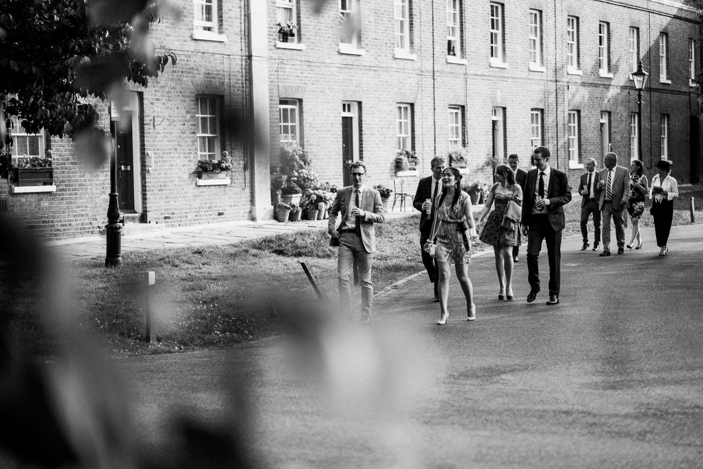 Reportage brockwell lido wedding photos
