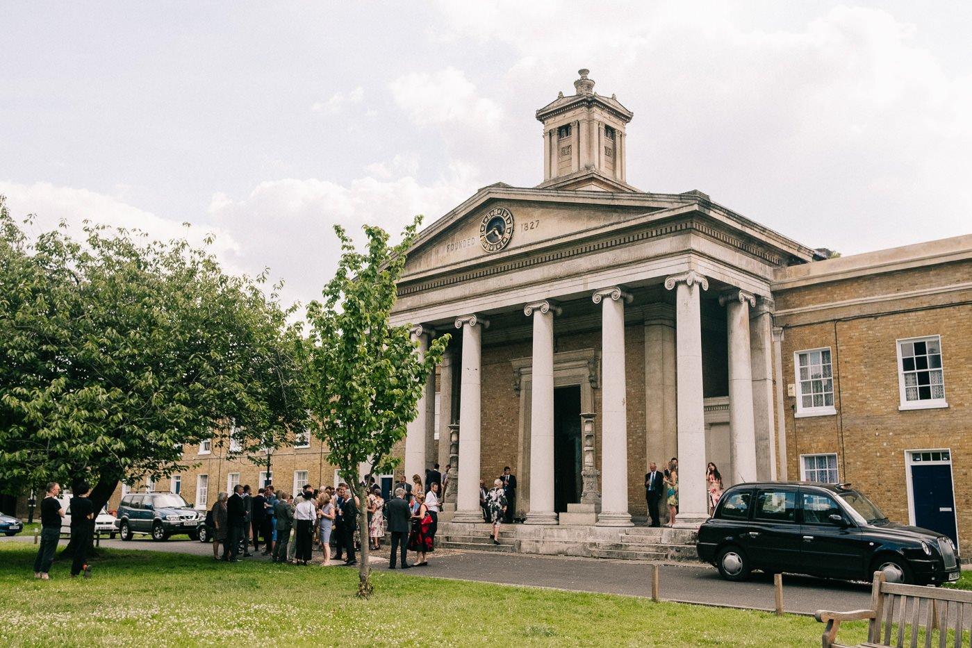 Asylum Peckham alternative wedding venue