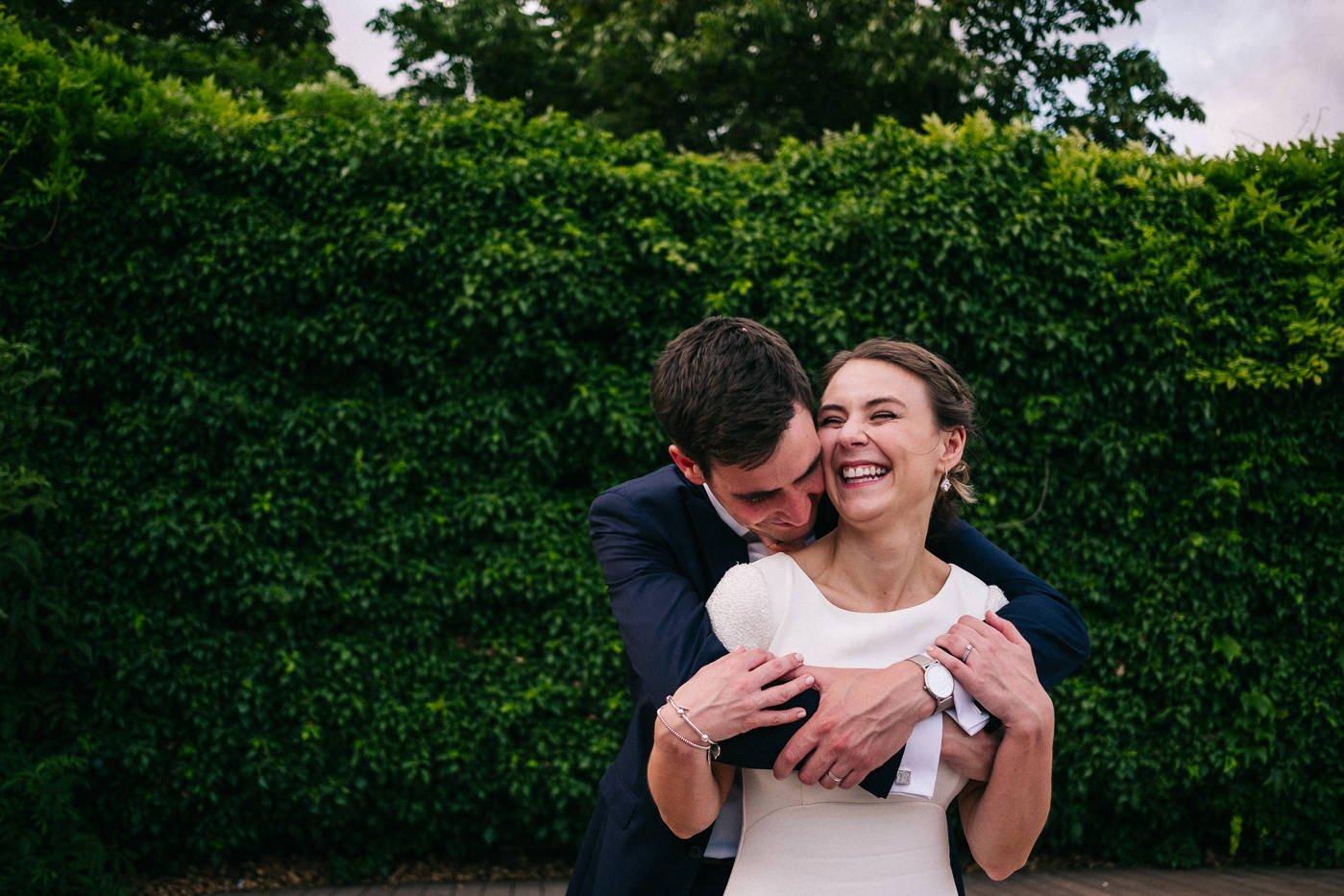 emotional couples portrait brockwell lido wedding photographer