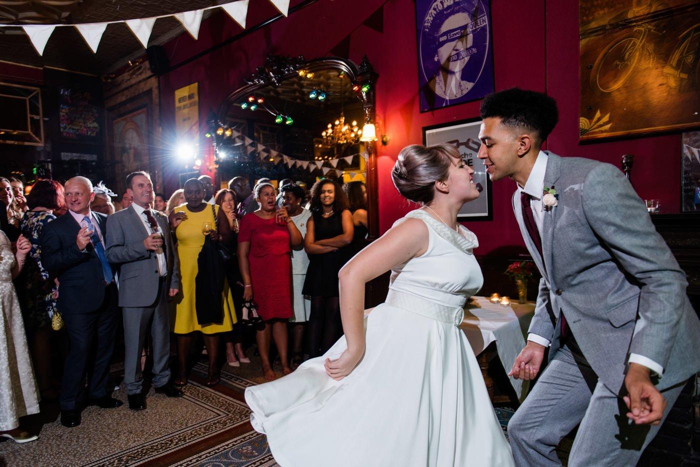 Alternative wedding photographer 60s wedding