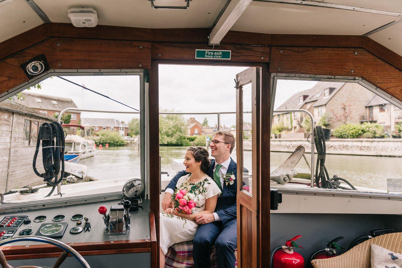 Thames river boat portrait The Perch Oxford
