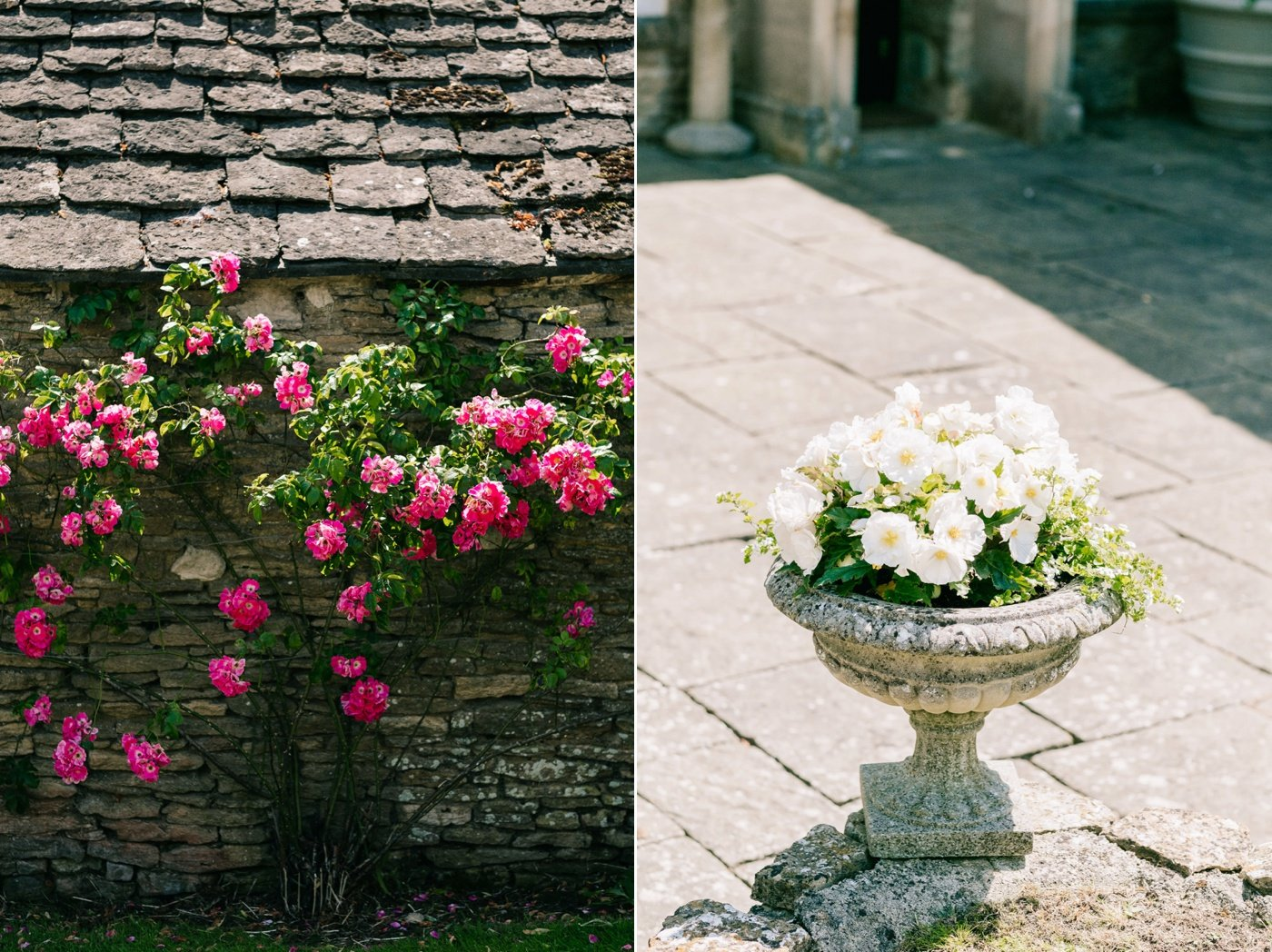 pretty outdoor details for a garden party wedding