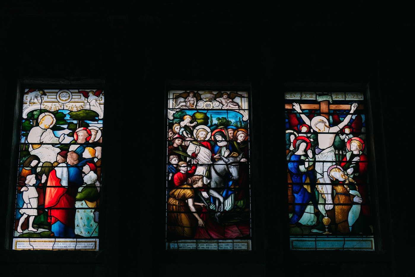 babb photography stained glass windows wedding venue