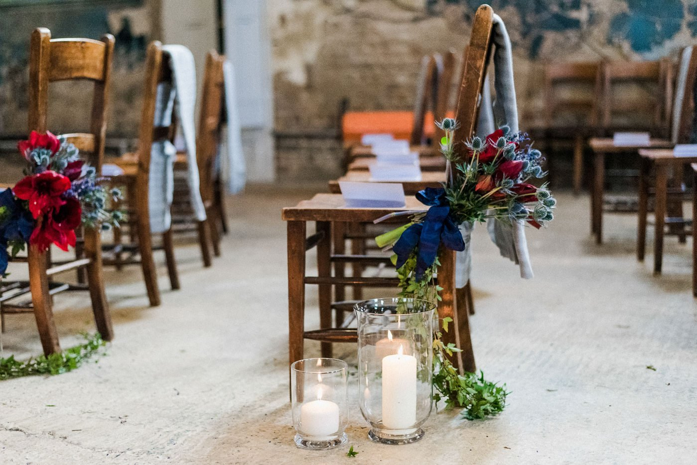 Cosy winter wedding ideas London wedding