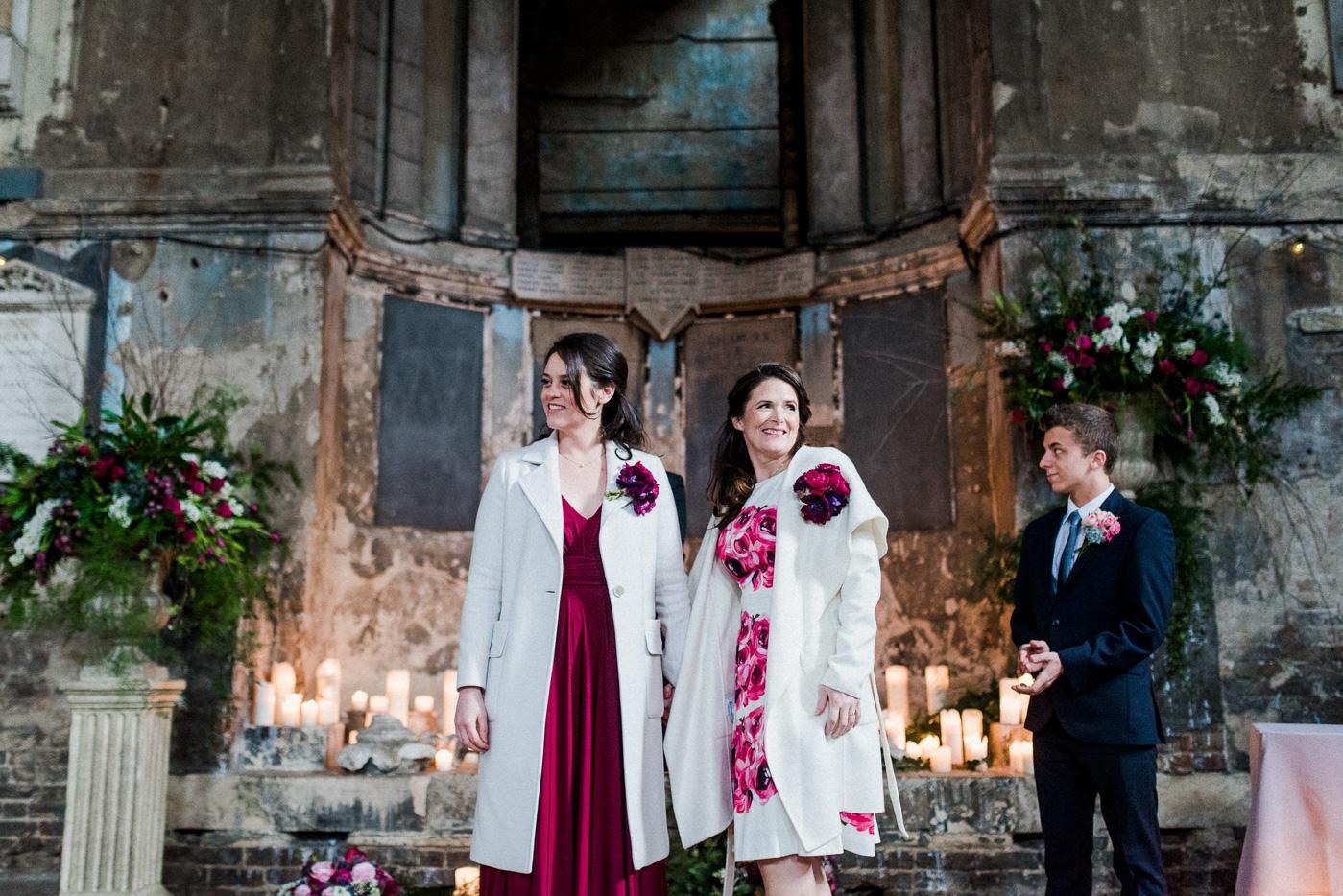 lesbian friendly wedding photographer asylum chapel