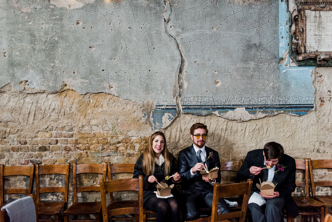 alternative wedding catering asylum chapel