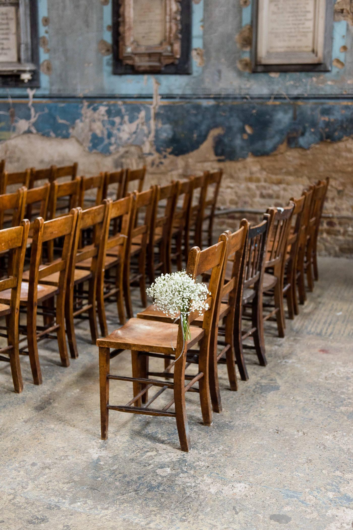 Rustic urban wedding venue Asylum Chapel
