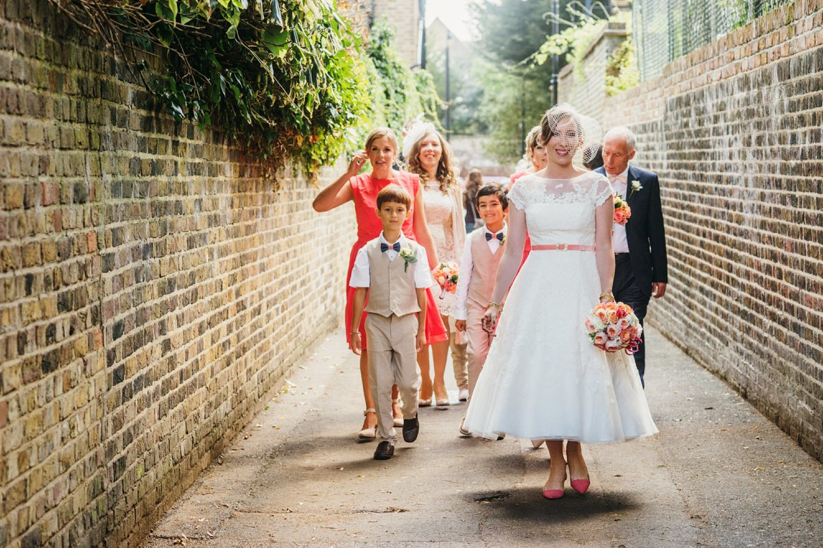 west london wedding photographer colourful vintage wedding-12