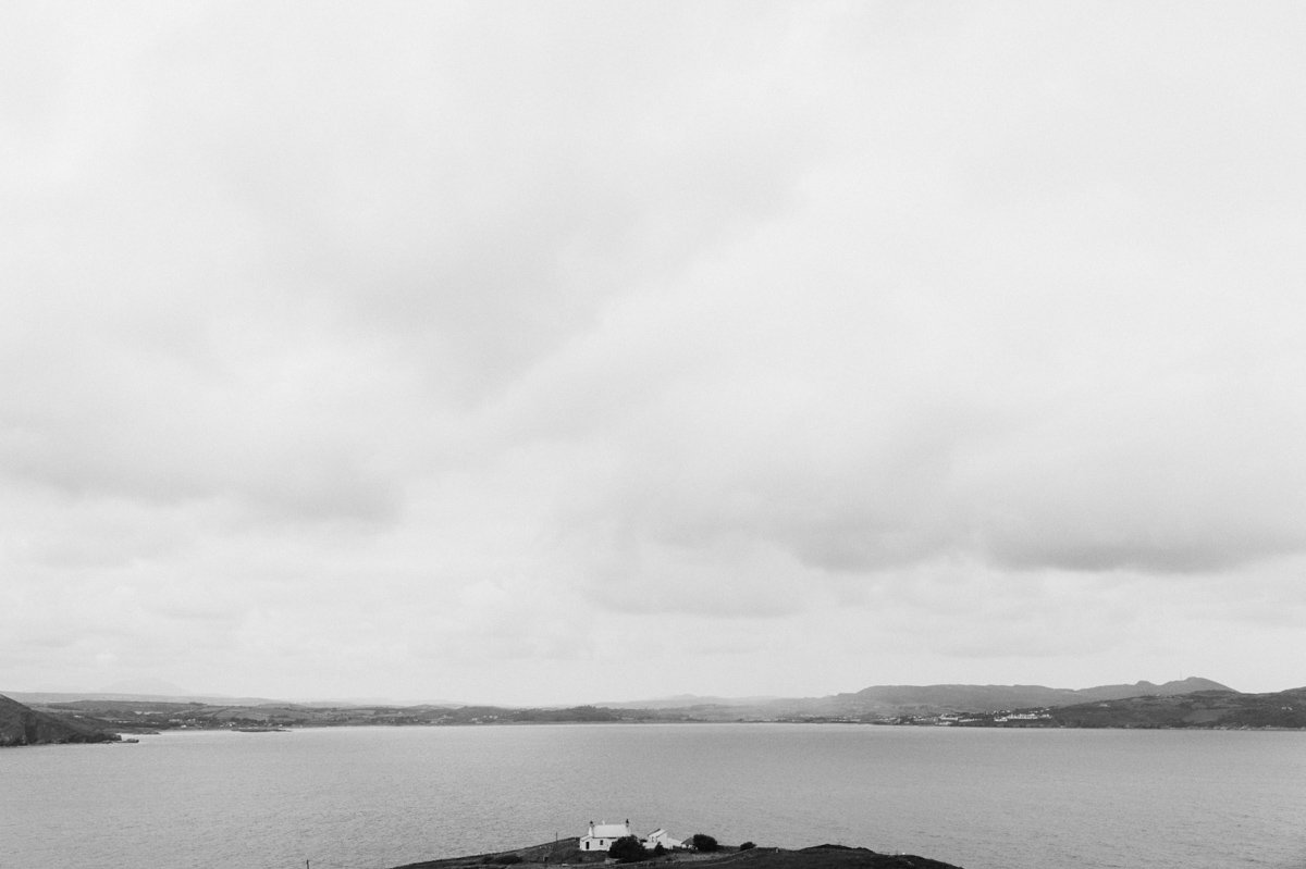 Alternative destination wedding photography, Fort Dunree, Donegal ...