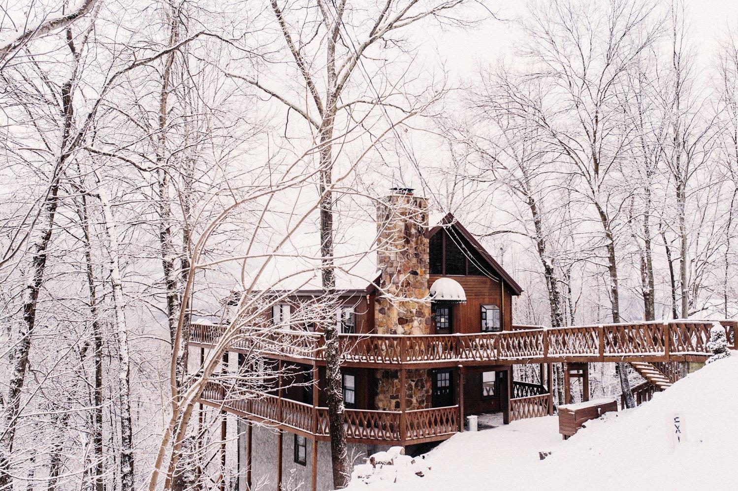 Gatlinburg snow storm