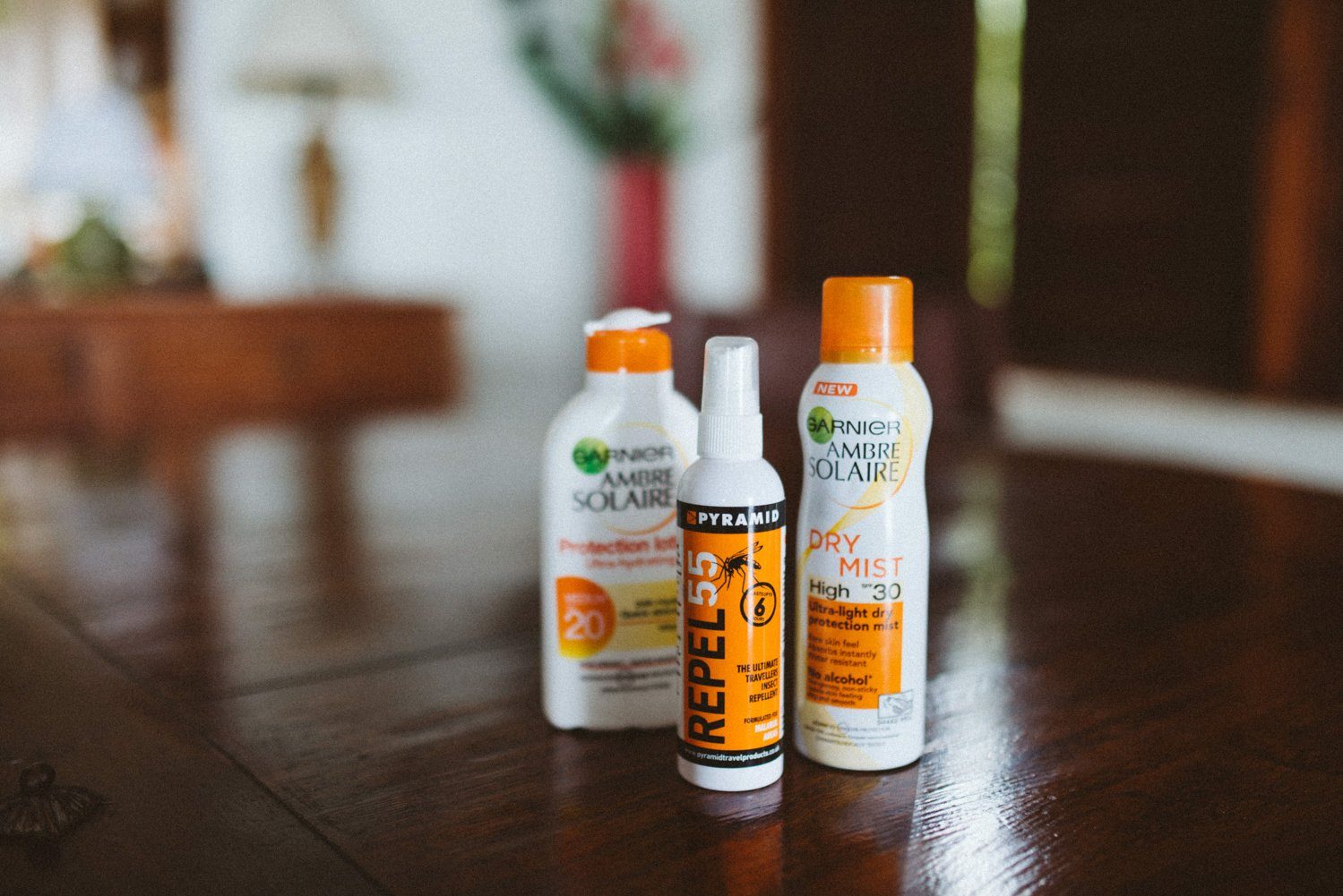 Suncream protection Destination Weddding Photography