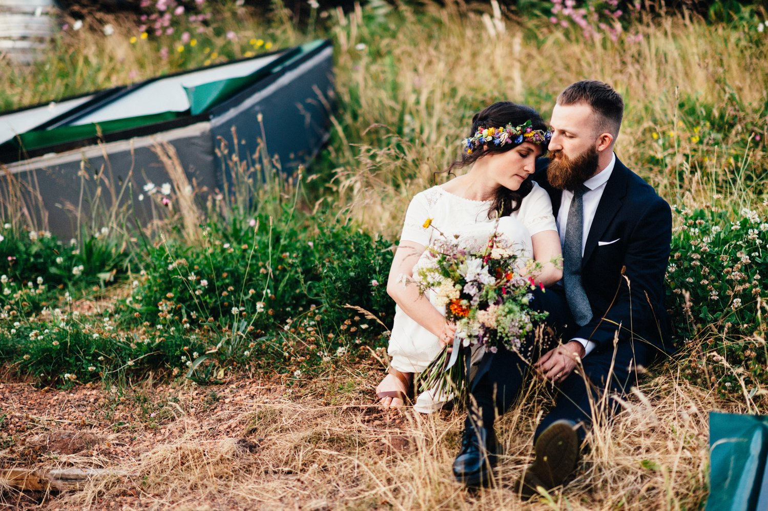 Creative wedding portrait BABB Photo