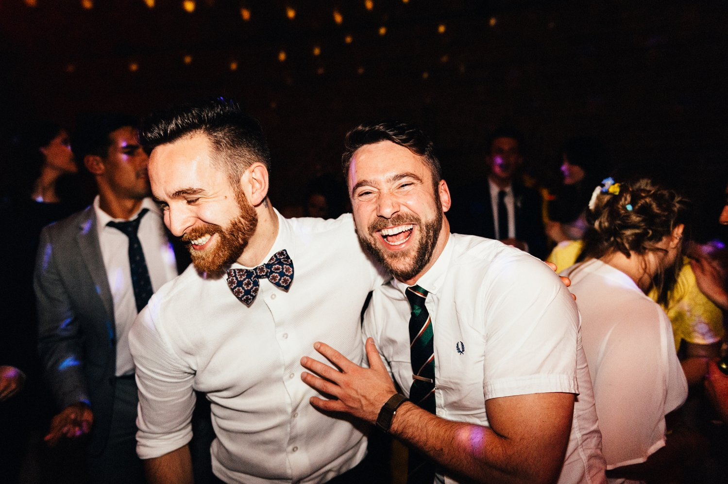 Fun Shoreditch wedding BABB Photo