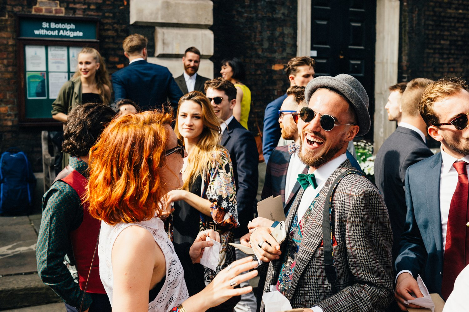 Creative Shoreditch wedding photography