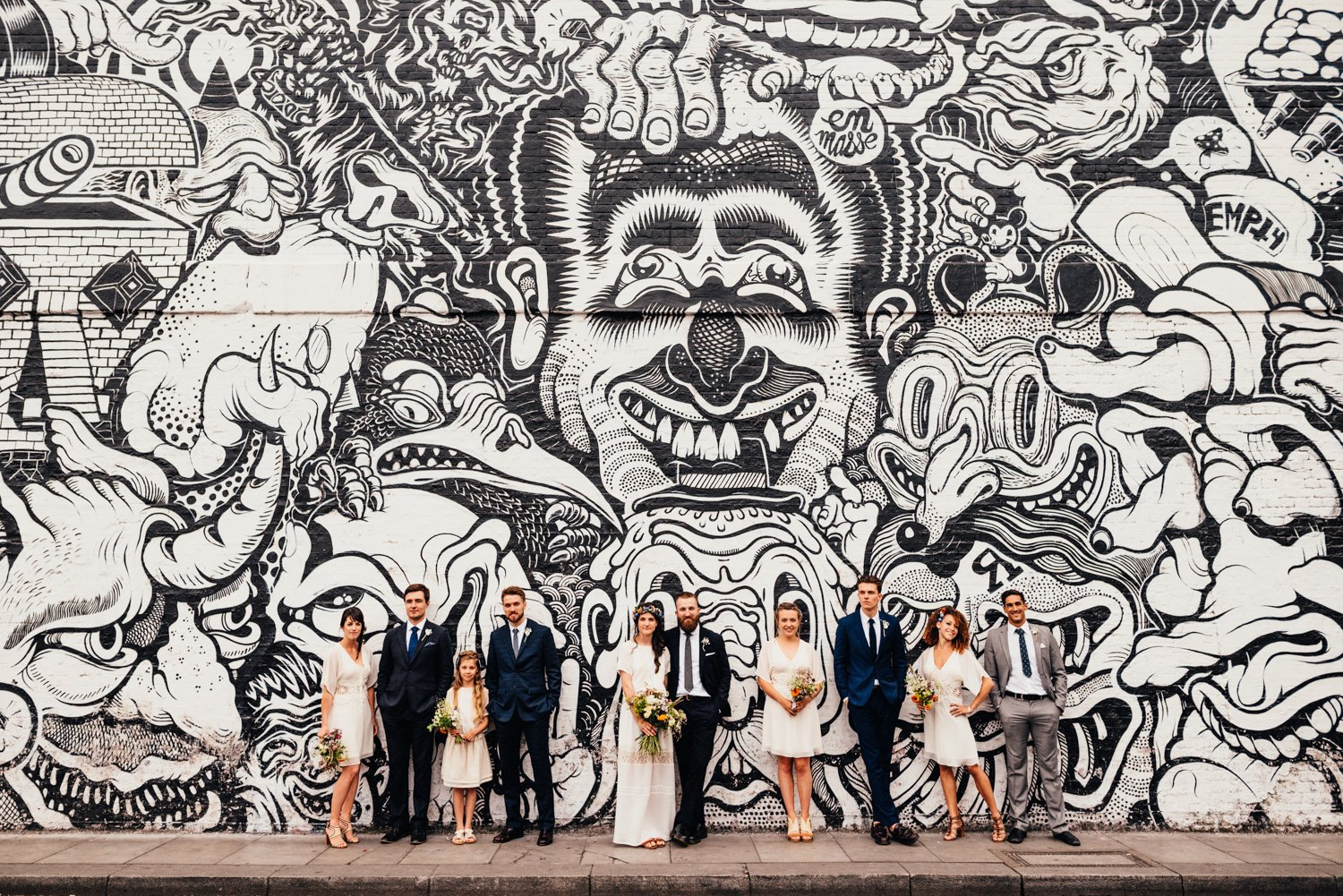 Creative Shoreditch wedding photographer