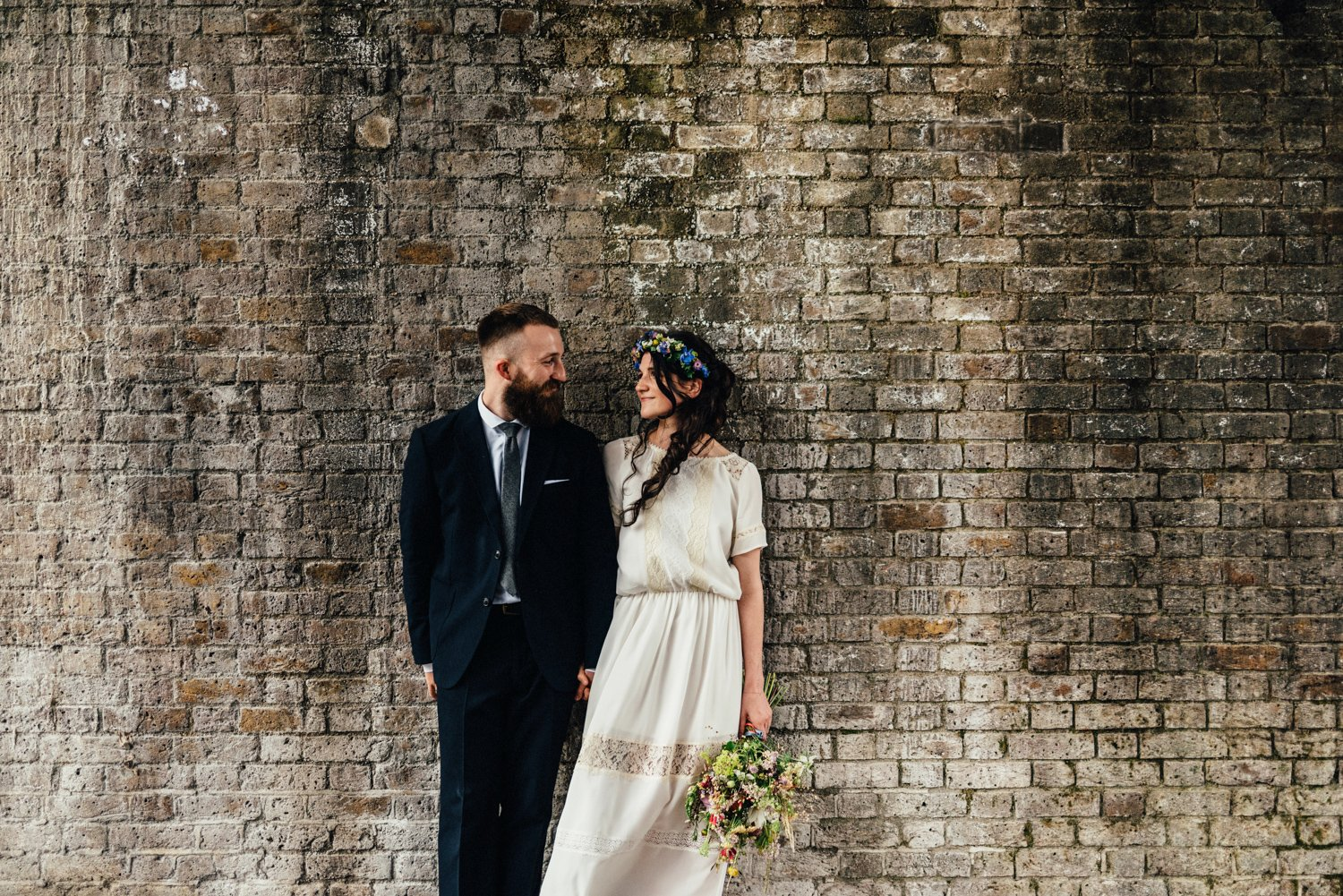 Shoreditch wedding portrait BABB