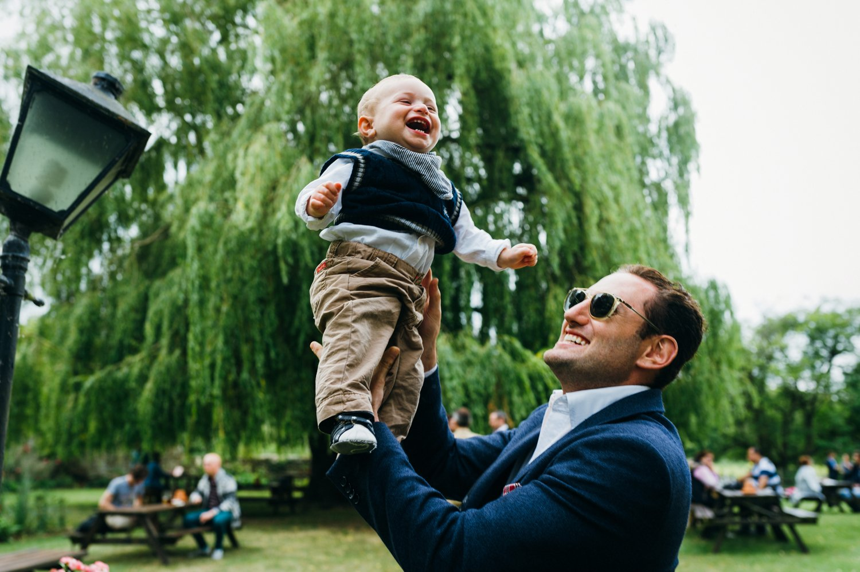 The Perch Inn Jewish Wedding Photographer Oxford-25