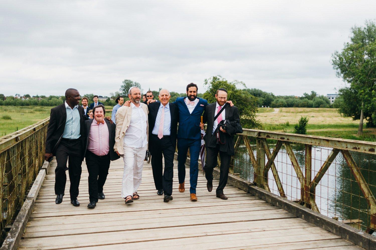 The Perch Inn Jewish Wedding Photographer Oxford-7