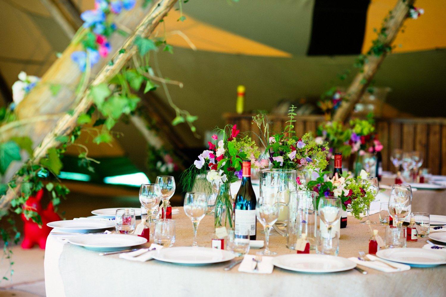 garden tipi wedding wiltshire wedding photographer-39