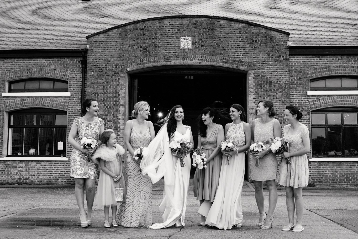 Urban chic London wedding