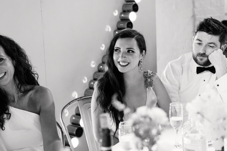 Glamorous London bride