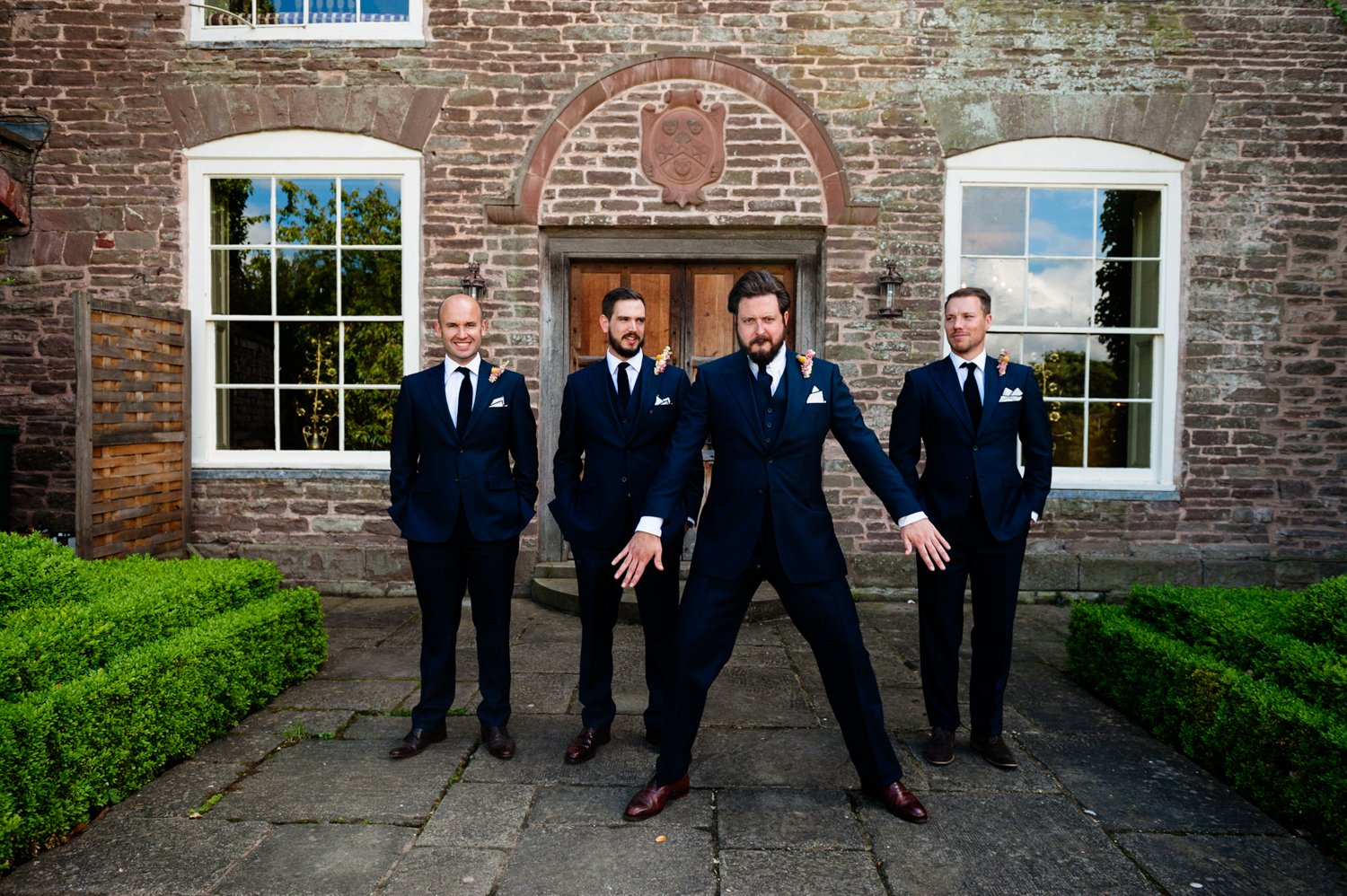 Meyer and Mortimer Groom with Ushers