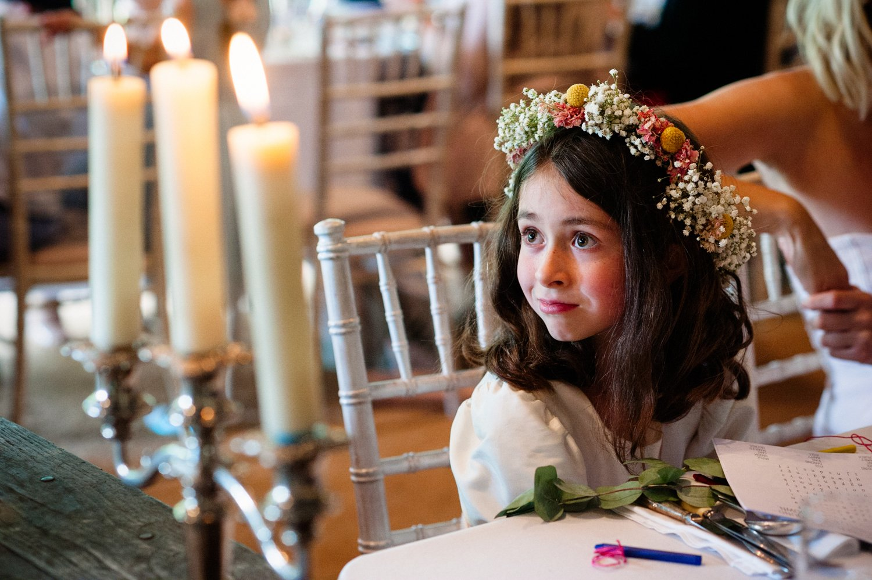 Cute flower girl & floral headband BABB