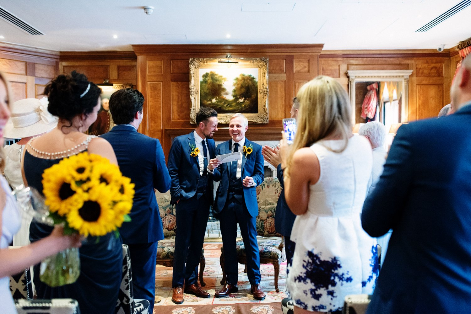 Happenstance and Covent Garden Hotel Wedding Photography-19