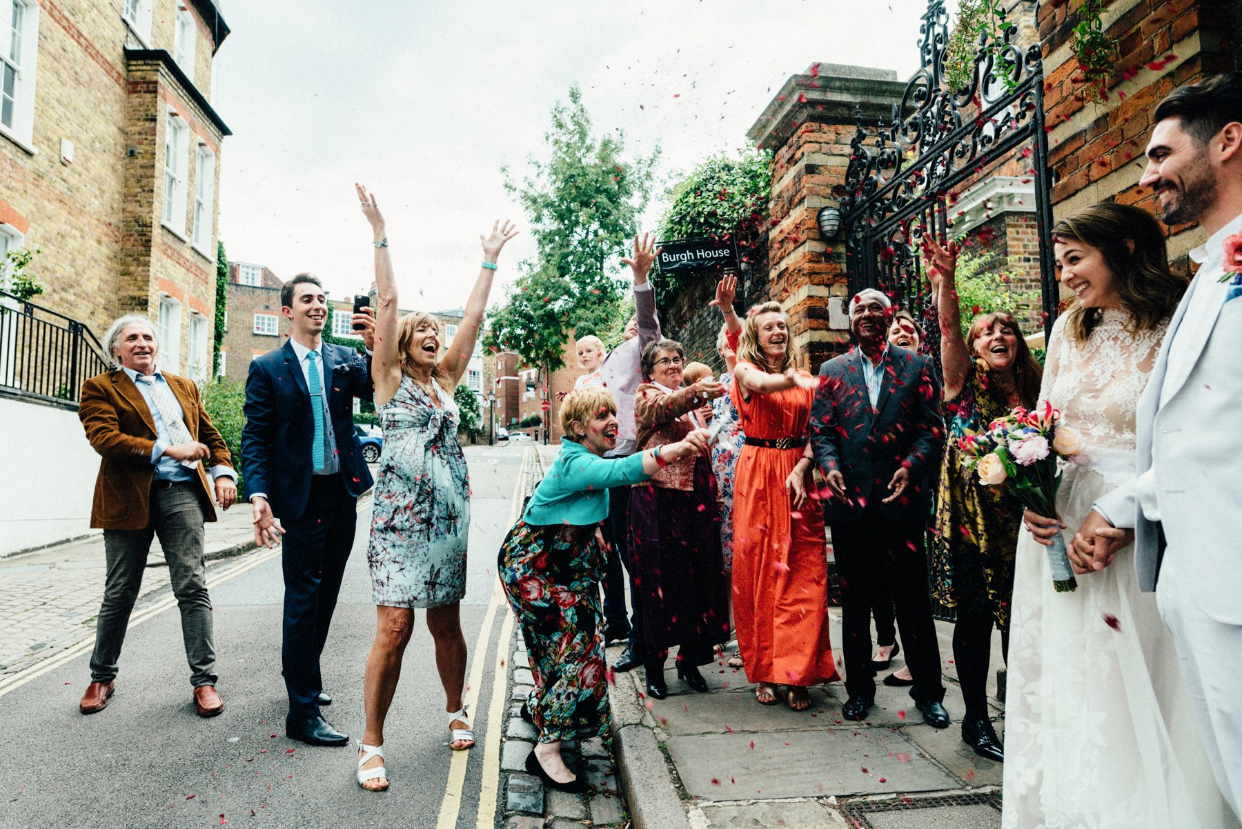 Fun Hampstead Wedding Babb Photo