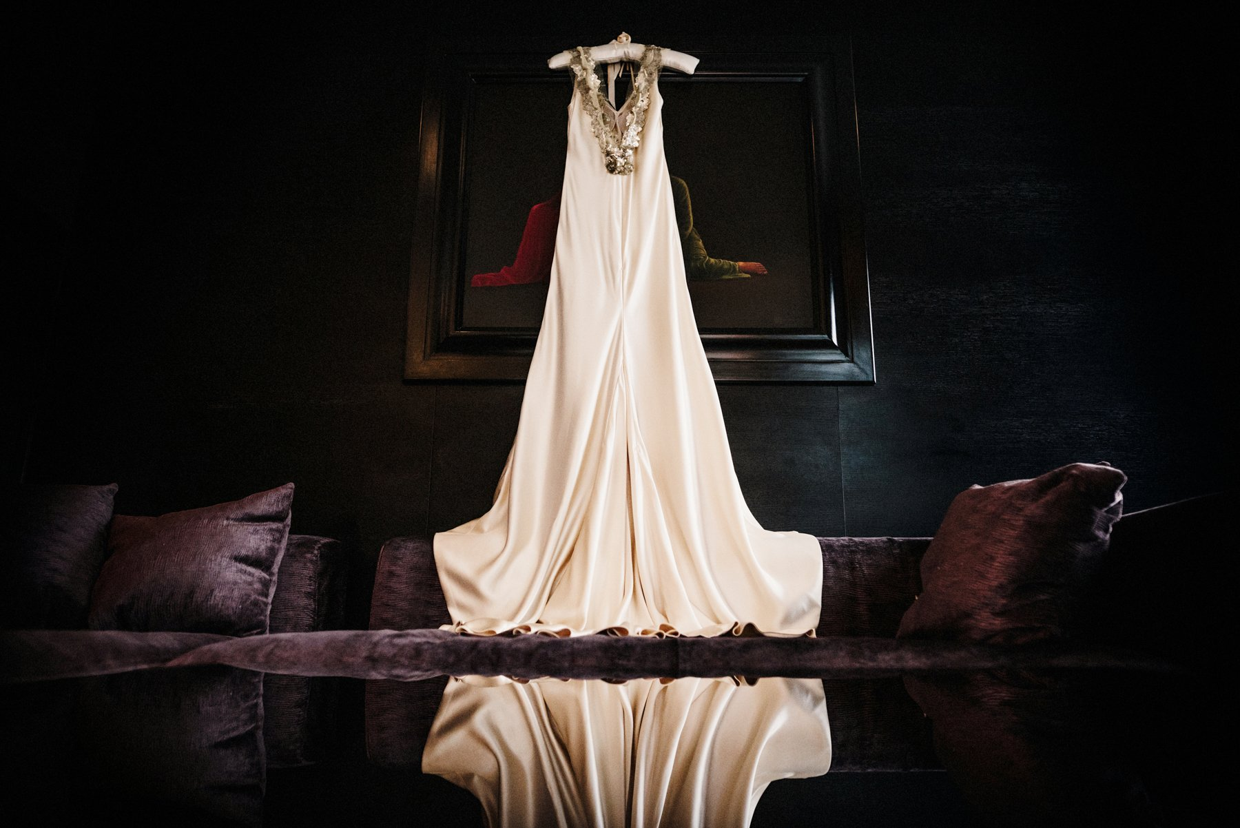 Johanna Johnson bridal dress Babb photo