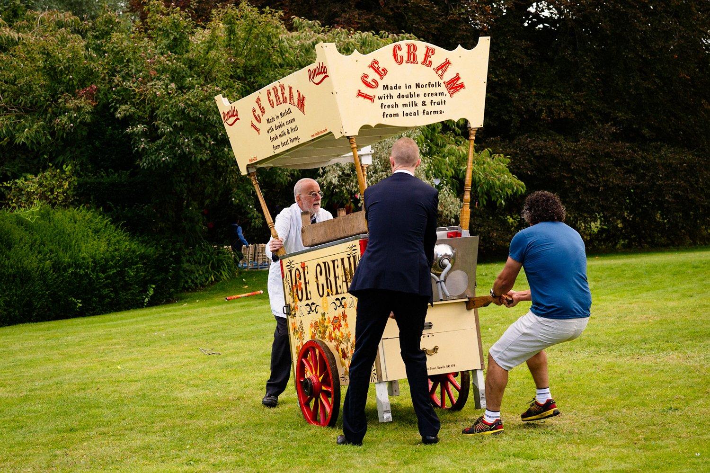 Ice Cream stand West Lexham Norfolk
