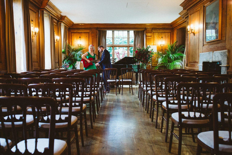 Burgh House London wedding venue
