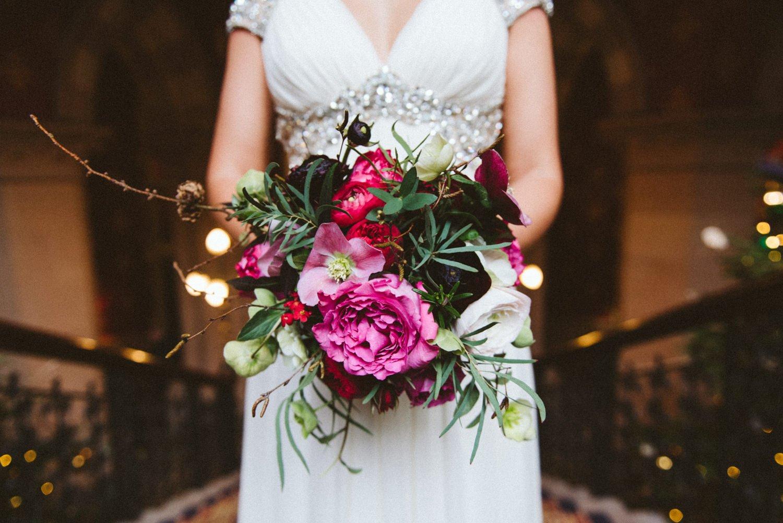 Beautiful That Flower Shop bridal bouquet London