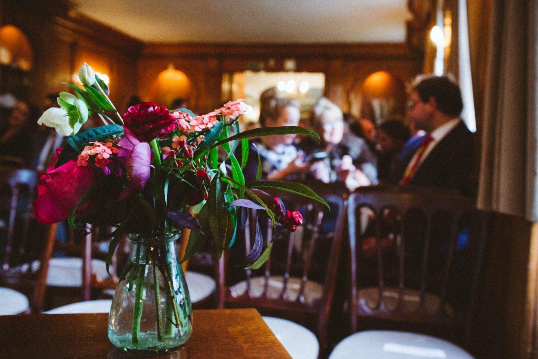 That Flower Shop summer wedding bouquet London