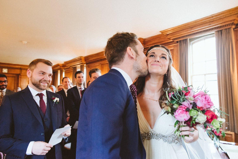 Burgh house wedding ceremony London