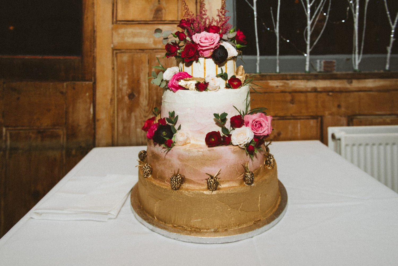Lilly Vanilli wedding cake London