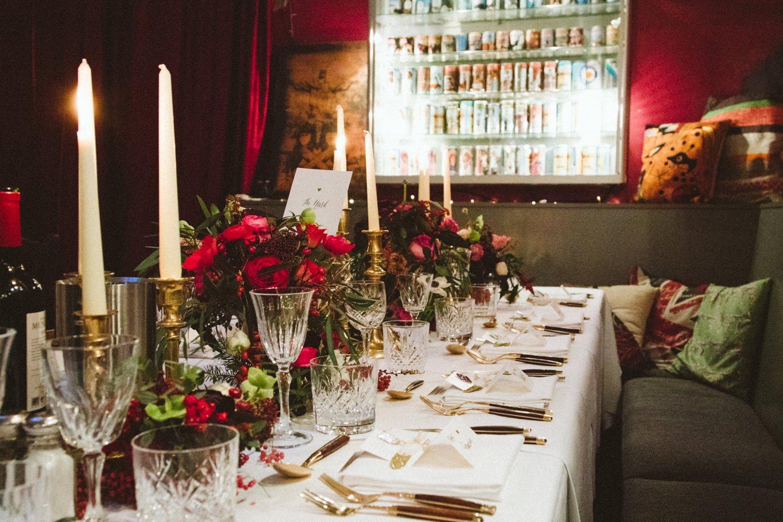 Londesborough Pub wedding decor photographer Babb Photo