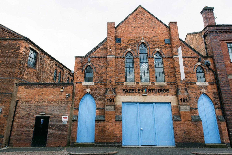 Fazeley Studios coolest wedding venue Birmingham