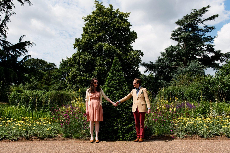 Kew Gardens Engagement Shoot-17