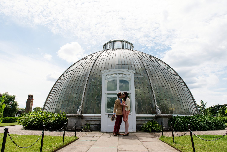 Kew Gardens Engagement Shoot-19