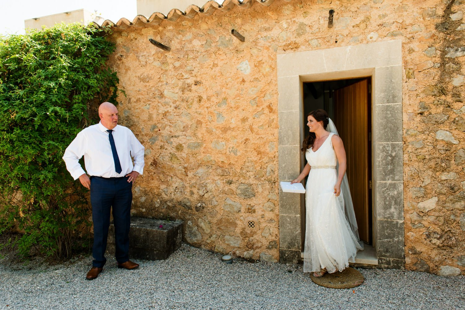 Rustic Mallorca Destination Wedding Photography